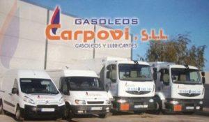 Precio de gasoil hoy Córdoba - Gasóleos y Lubricantes Carpovi