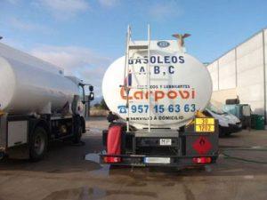 Precio del gasoil hoy Villanueva de Córdoba - Gasóleos y Lubricantes Carpovi